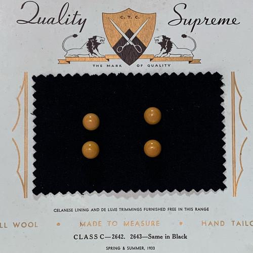 Four Orange Sphere Buttons