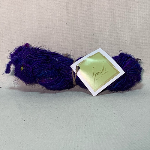 Deep Purple - Sari Recycled Yarn