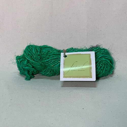 Jade Green - Sari Recycled Yarn