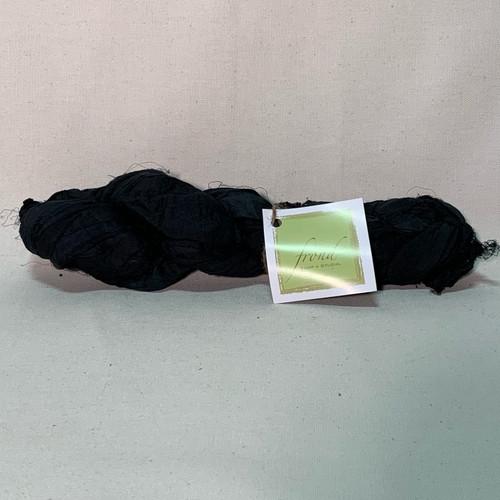 Black - Sari Silk Ribbon