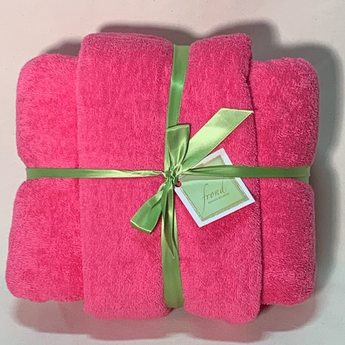 Pink Terry Cloth
