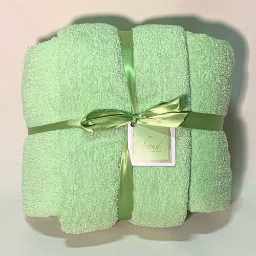 Mint Green Terry Cloth
