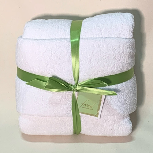 White Terry Cloth