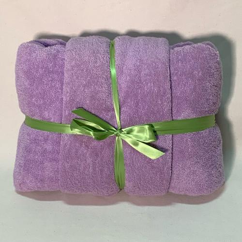 Lavender Terry Cloth