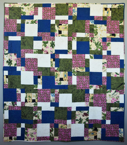 High Five in Backyard Nature Study Quilt