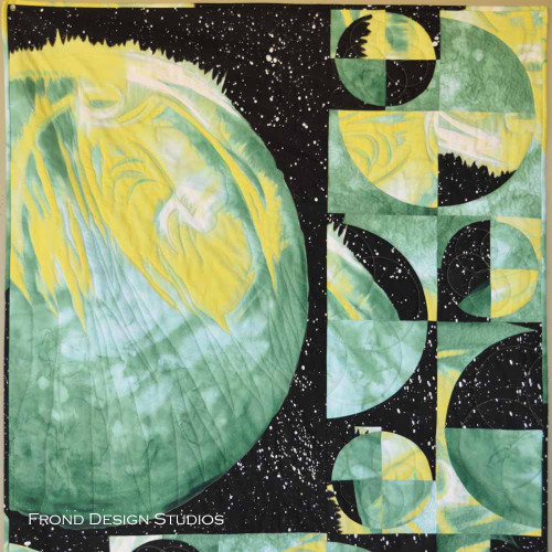 Moon Phases featuring Go Green Quilt Kit