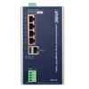 4GE POE + 1GE Solar Power L2 Industrial PoE Switch