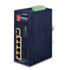 4 x 10/100TX PoE 802.3at + 1 x 100BASE-FX SFP Industrial PoE Switch
