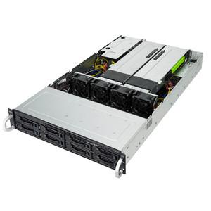2U 8-Bay GPU Scalable Server, Barebone