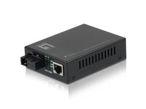 10/100BASE-TX to 100BASE-FX SM BIDI SC Media Converter