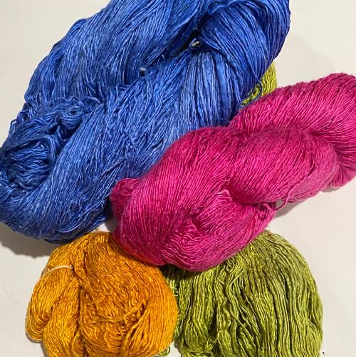 Dyed Luxury Fine Single Silk