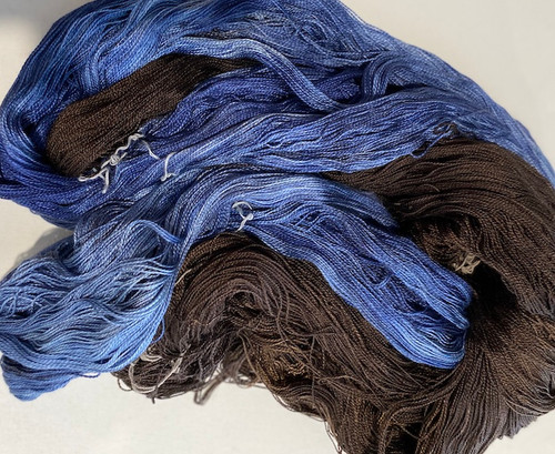 Hand-dyed Mulberry Silk Yarn 20/2