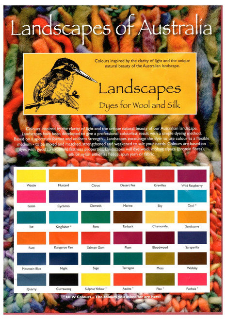 Landscapes Originals 100 grams - Wool Dyes
