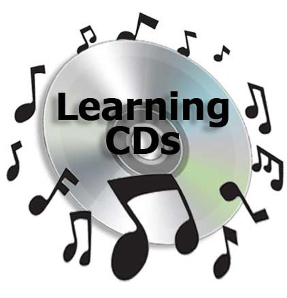 Barbershop Potpourri (Bari) - CD Learning Tracks for 6054