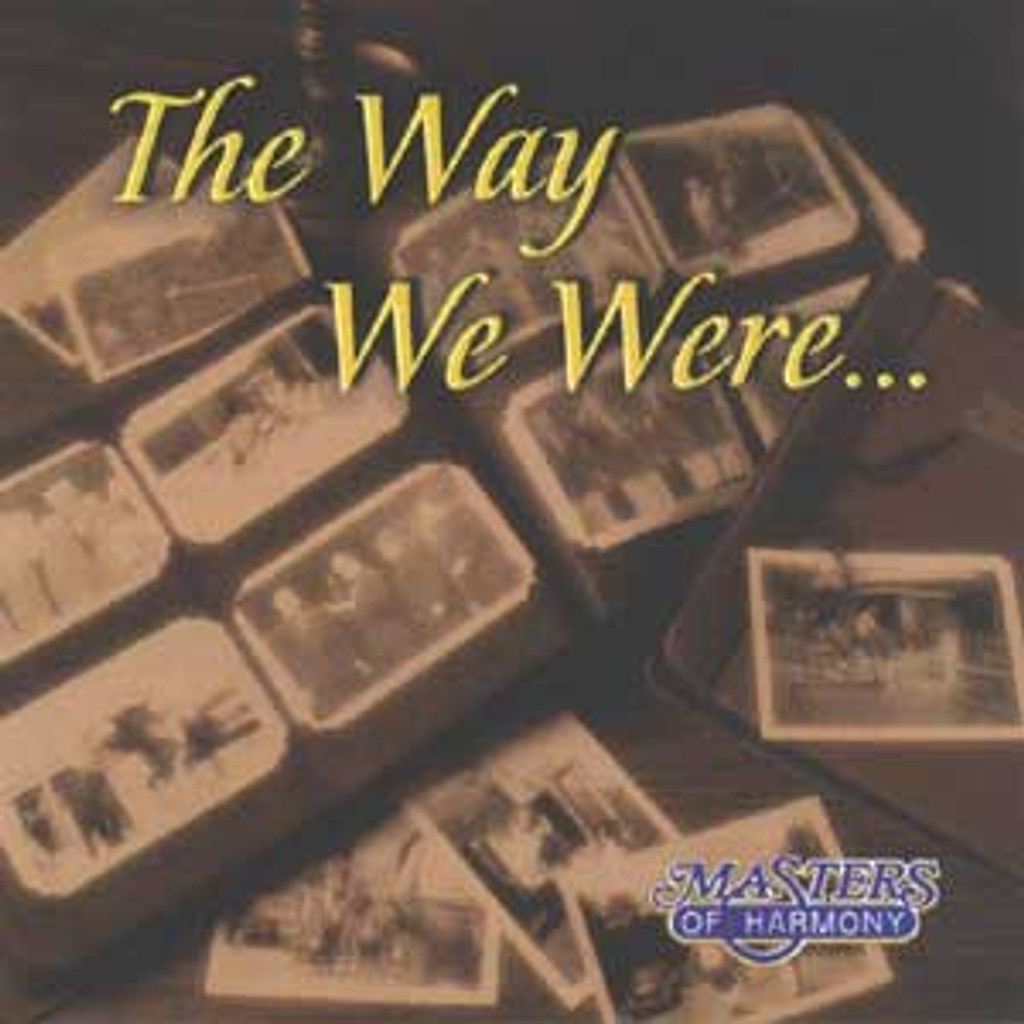 Masters of Harmony -The Way We Were-CD