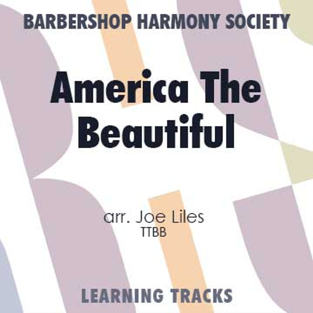 America The Beautiful (FE) (TTBB) (arr. Liles) - CD Learning Tracks
