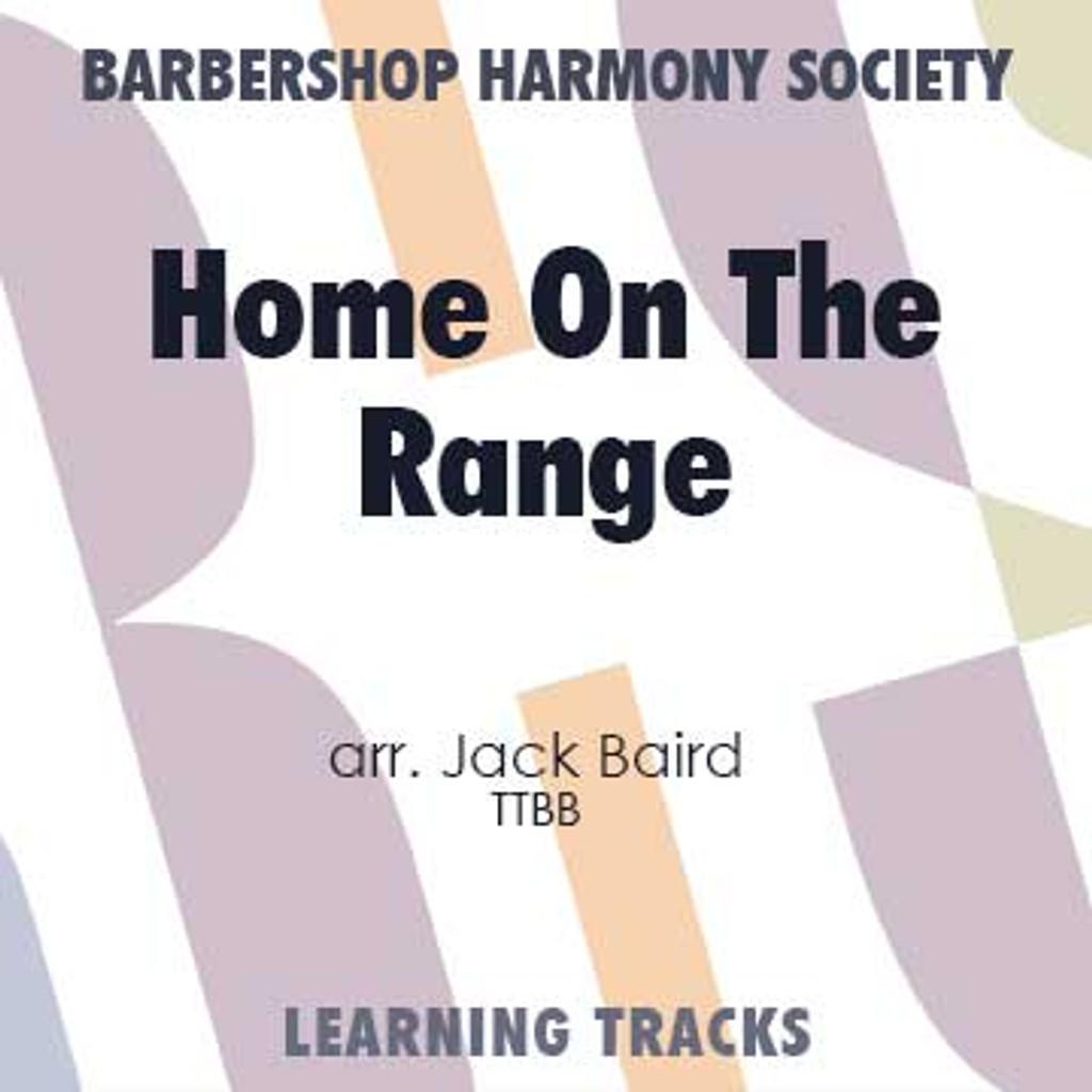 Home On The Range (TTBB) (arr. Baird) - CD Learning Tracks for 7740