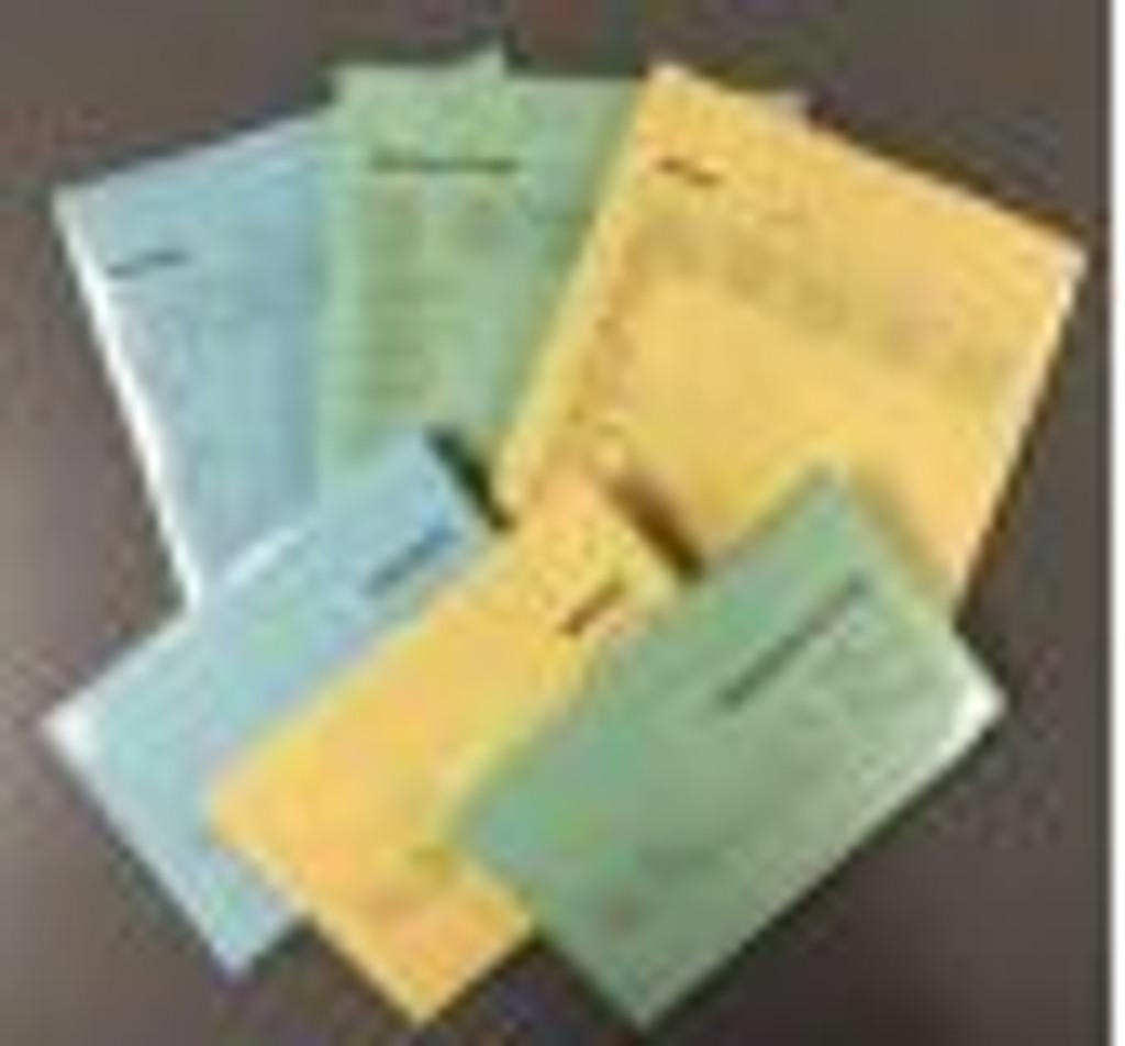 C&J Performance Scoring Form (Short Form / Green / CJ27) Pkg/100