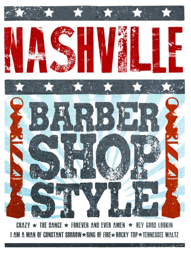 Nashville Barbershop Style - Songbook