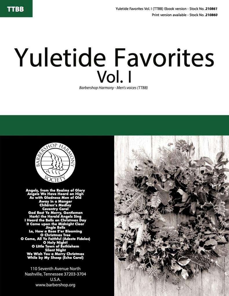 Yuletide Favorites Vol. I Songbook (TTBB) - Download