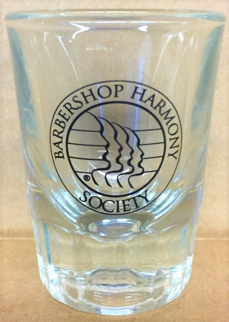 This 2 ounce fluted shot glass delivers a classic feel with a heavy glass base and iconic detailing.  Present your spirits in style with our branded BHS logo.  It can be paired with any BHS or SPEBSQSA glass or mug and be the start to a personal collection of your own.   It is made not only for barbershop enthusiasts, but also for anyone with an affinity for shot glasses.