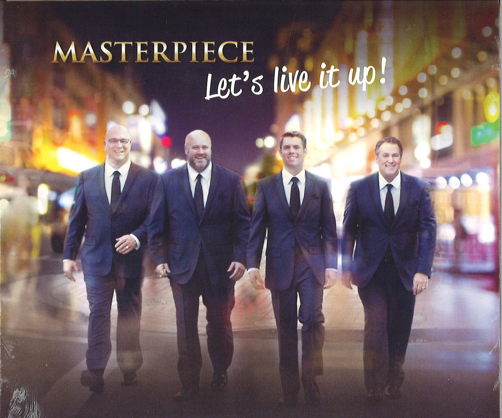 Masterpiece Let's Live It Up CD