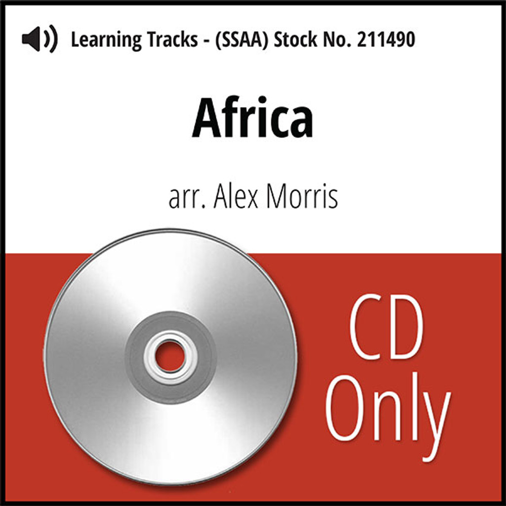 Africa (SSAA) (arr. Morris) - CD Learning Tracks for 211489