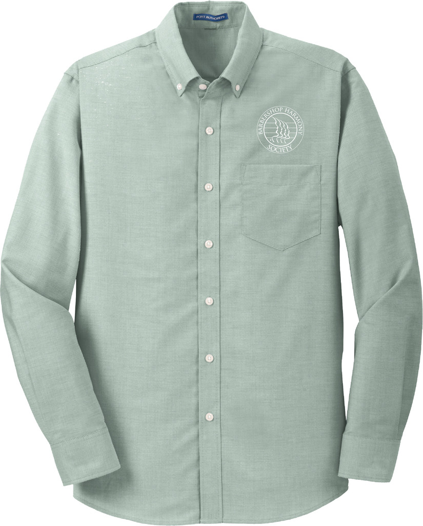 Men's BHS Green Oxford