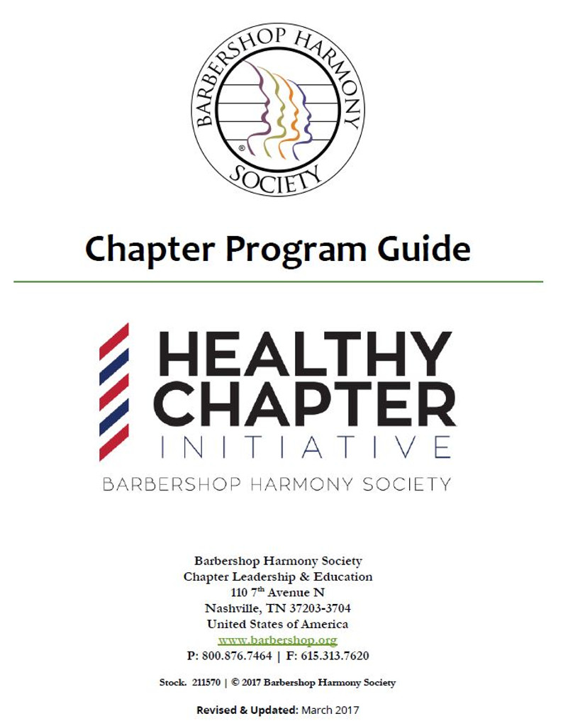 Chapter Program Guide - Download