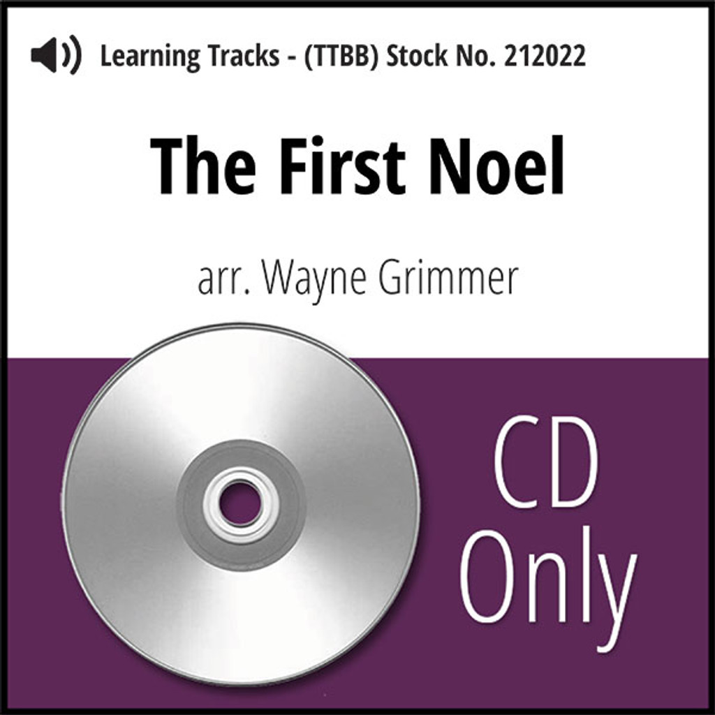 The First Noel (TTBB) (arr. Grimmer)- CD Learning Tracks for 211962
