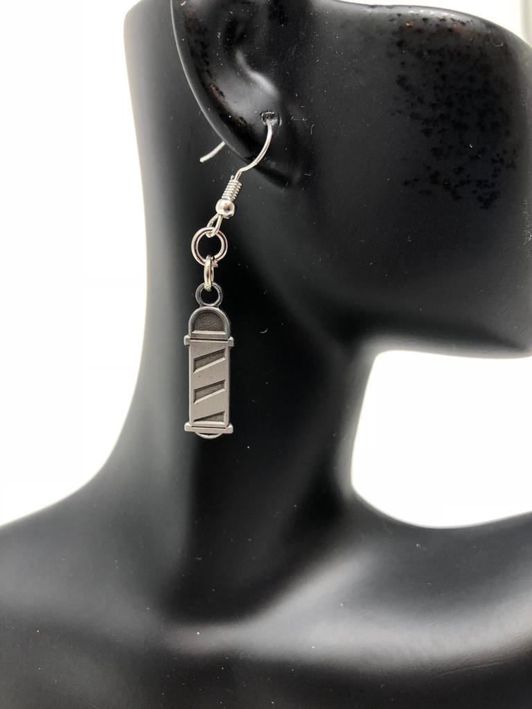 Barberpole Earrings