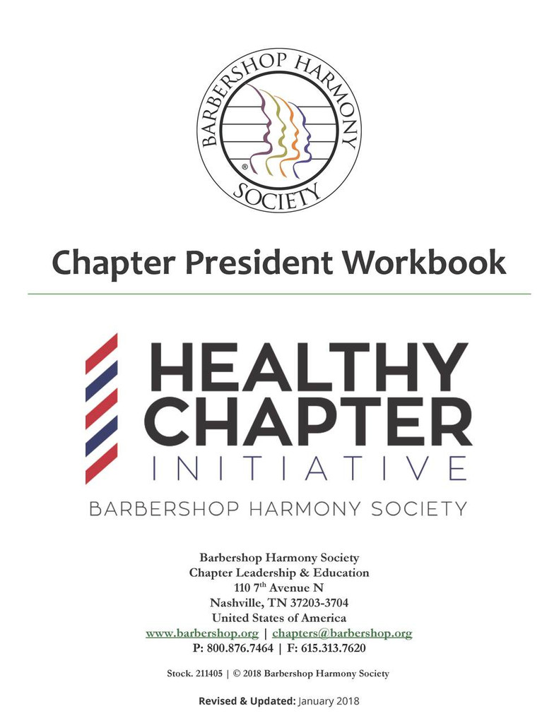 Chapter President Workbook - Download