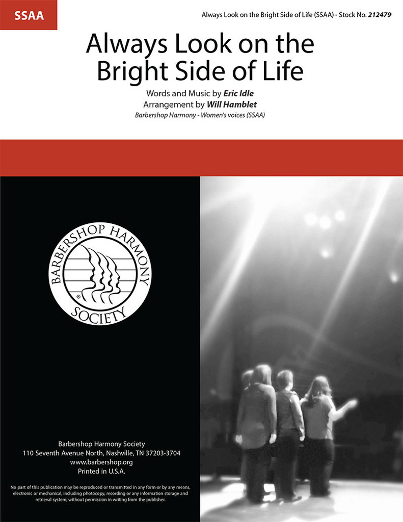 Always Look On The Bright Side Of Life (SSAA) (arr. Hamblet)