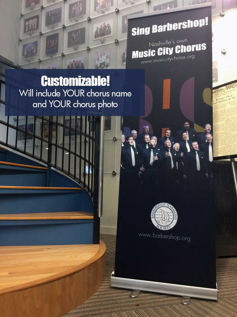 2' X 6' Custom Chapter/District Banner