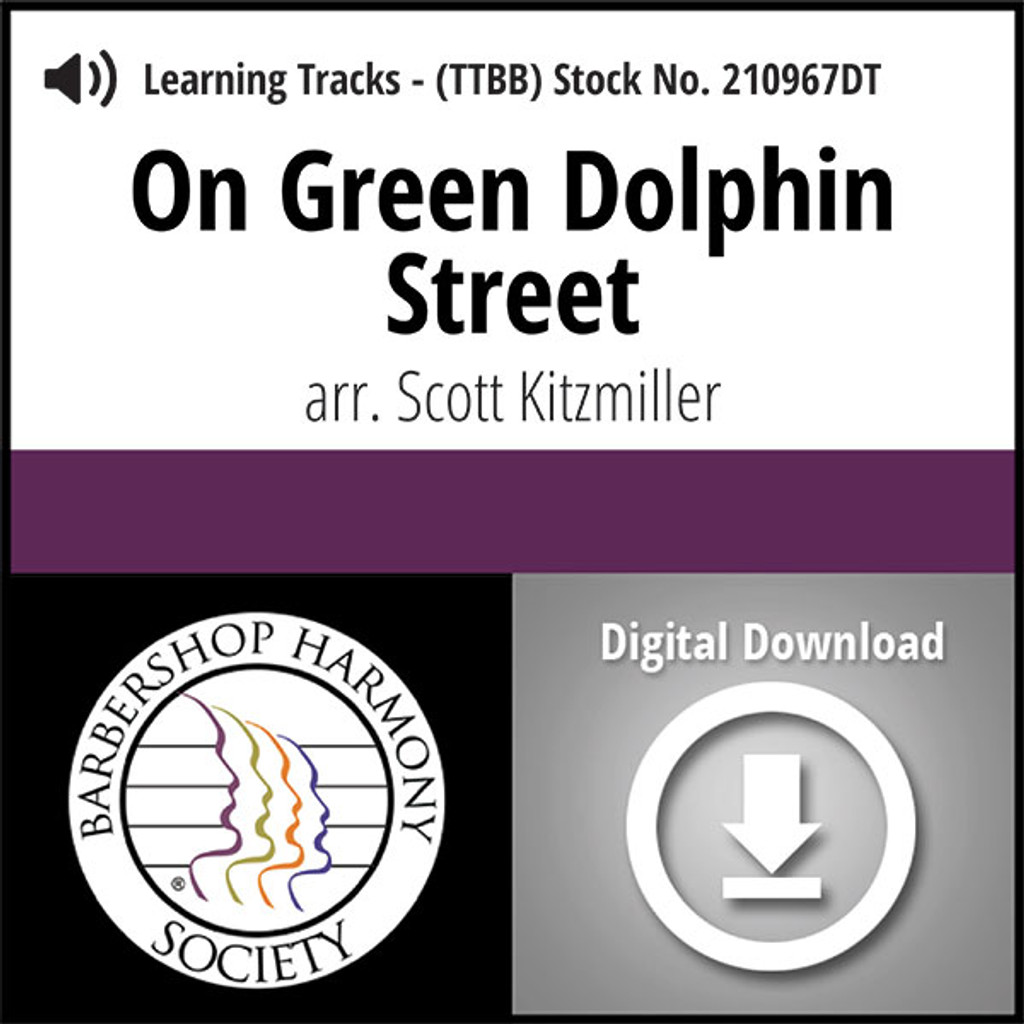 On Green Dolphin Street (TTBB) (arr. Kitzmiller) - Digital Learning Tracks - for 211013