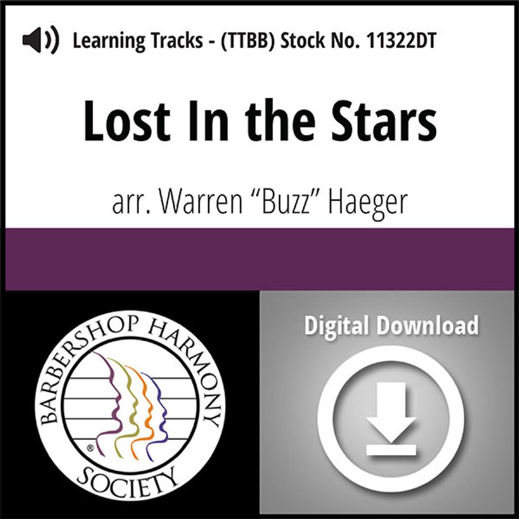 Lost In the Stars (TTBB) (arr. Haeger) - Digital Learning Tracks - for 8821