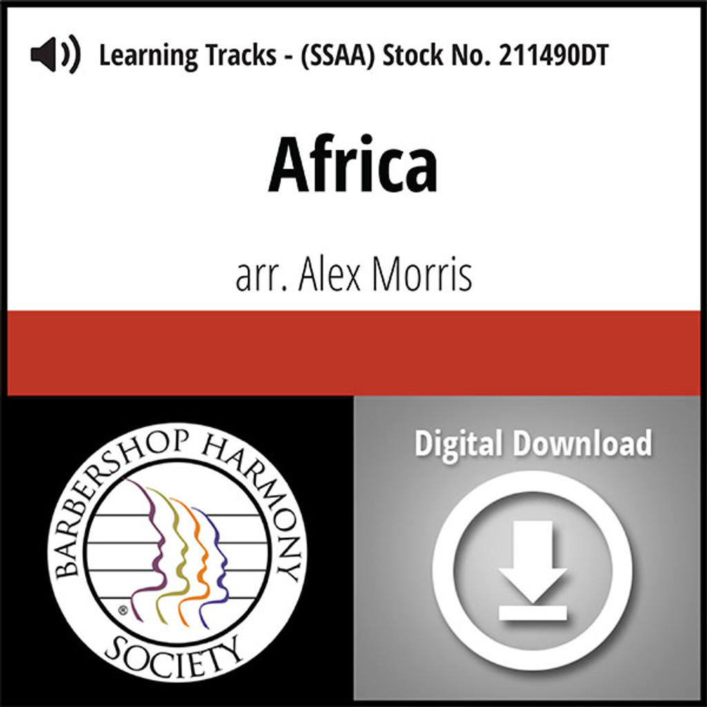 Africa (SSAA) (arr. Morris) - Digital Learning Tracks - for 211489
