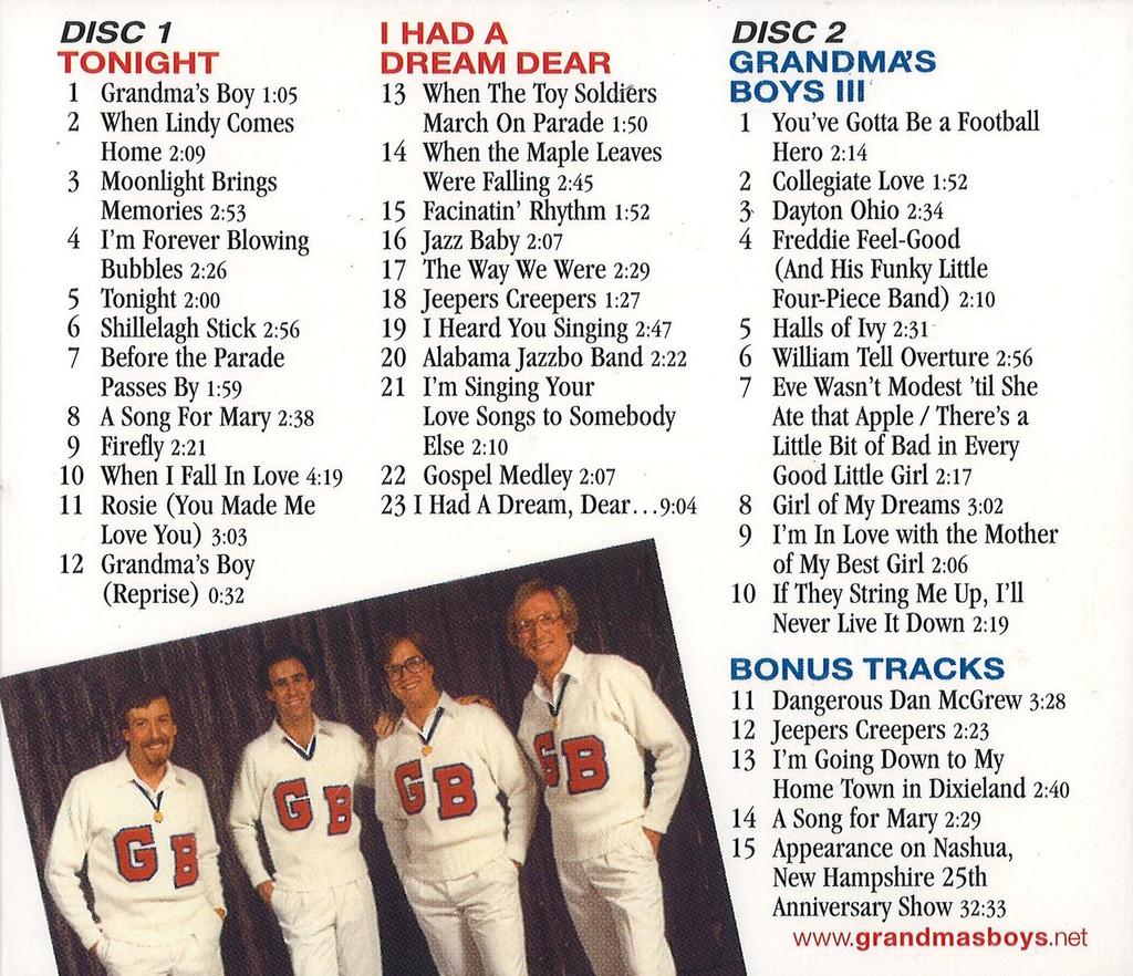 Grandma's Boys - Double CD
