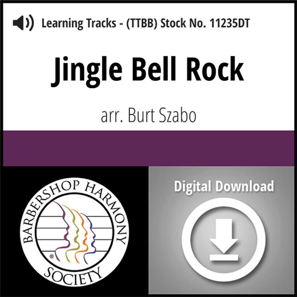 Jingle Bell Rock (TTBB) (arr. Szabo) - Digital Learning Tracks - for 7690