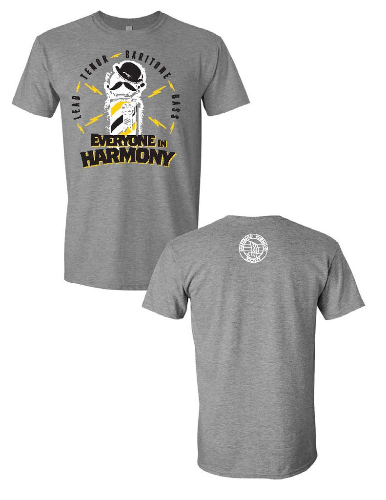 Everyone In Harmony Voice Part Tee