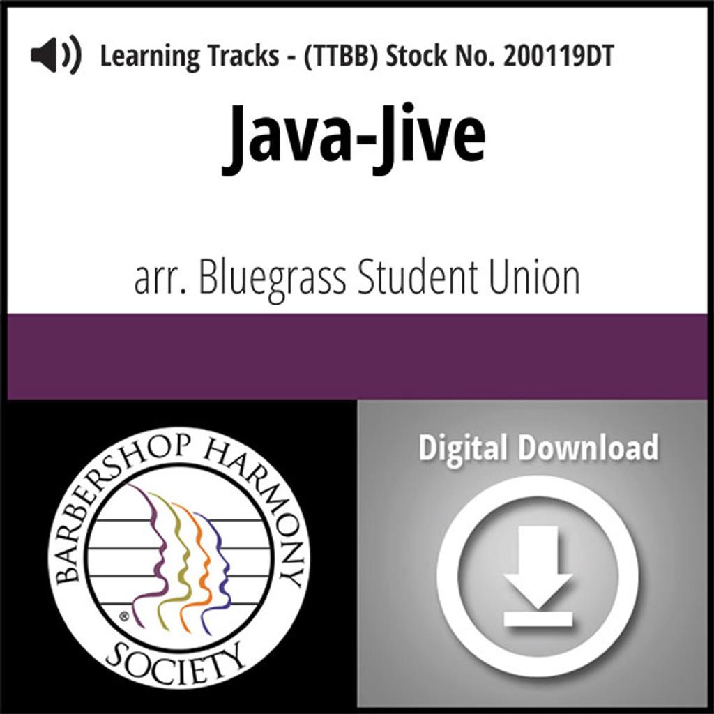 Java Jive (TTBB) (arr. Bluegrass Student Union) - Digital Learning Tracks - for 200096