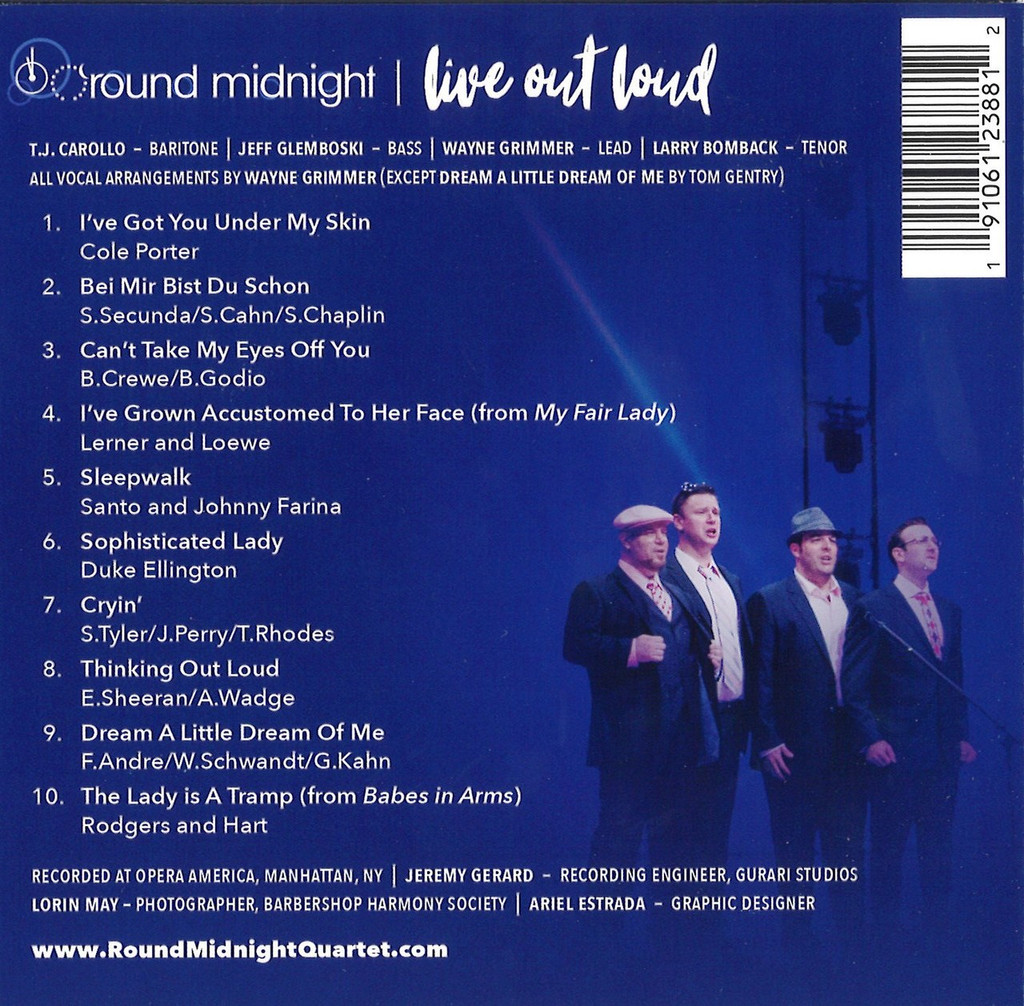 Round Midnight - Live Out Loud CD