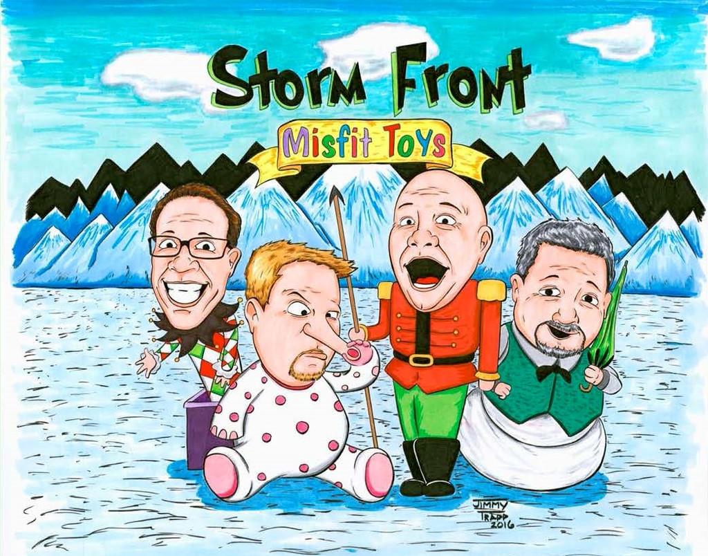 Storm Front - Misfit Toys CD