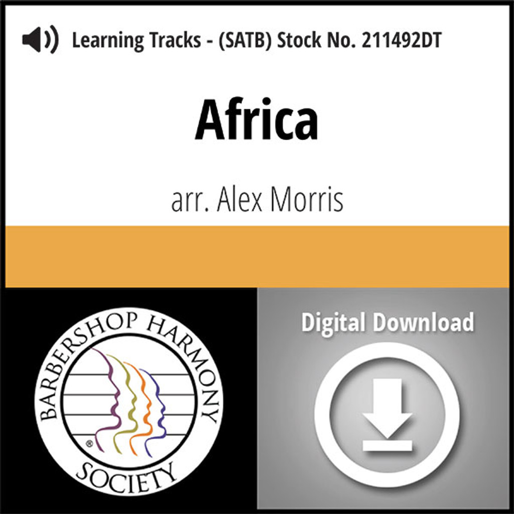 Africa (SATB) (arr. Morris) - Digital Learning Tracks - for 211491