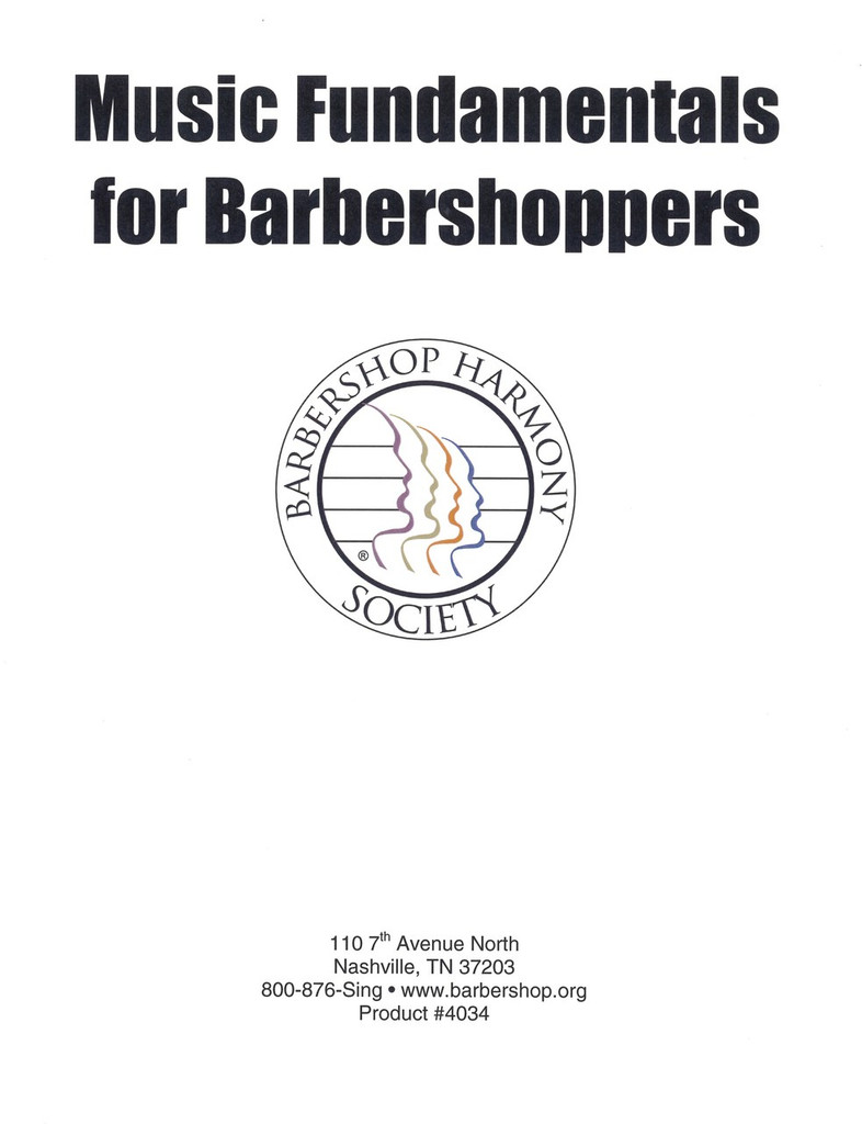 Music Fundamentals For Barbershoppers
