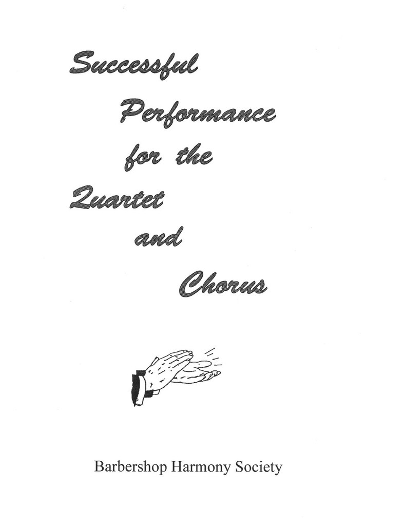 Successful Performance Manual