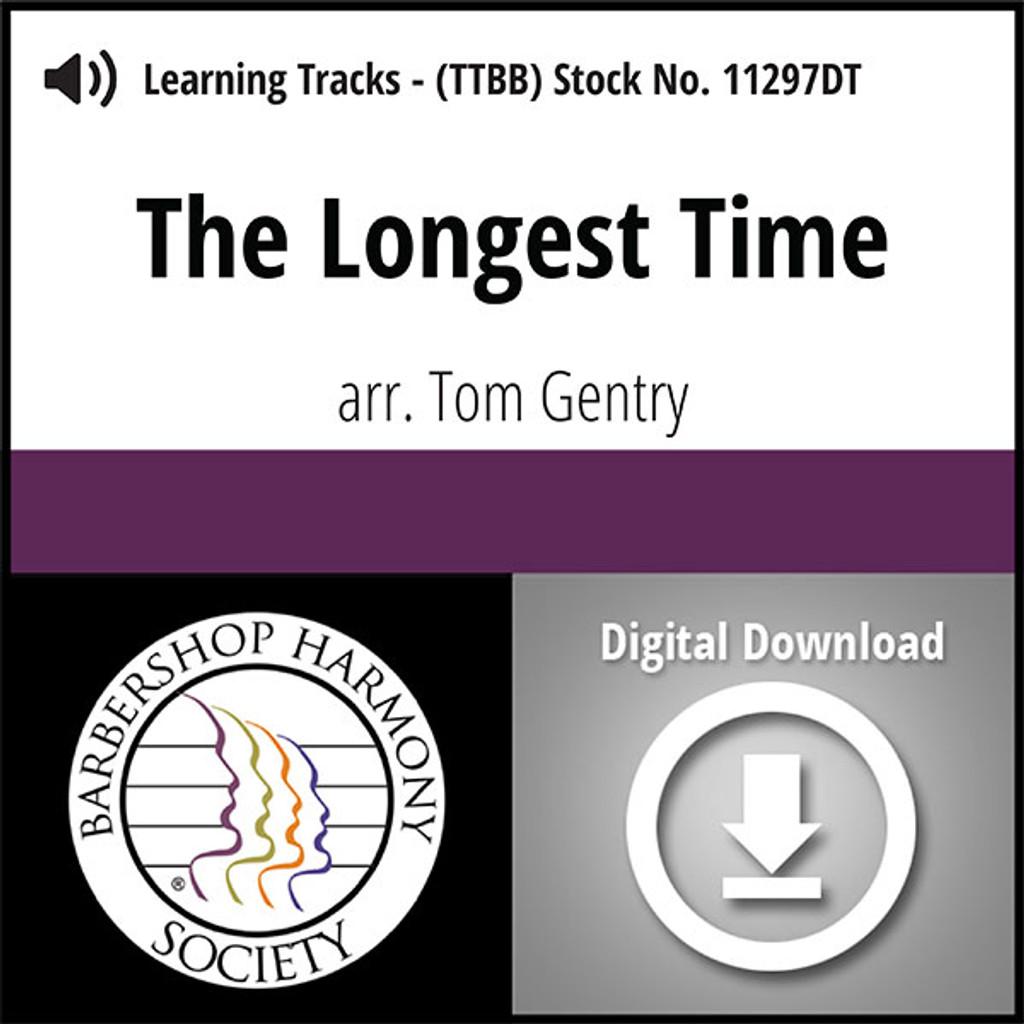 The Longest Time (TTBB) (arr. Gentry) - Digital Learning Tracks  for 8631