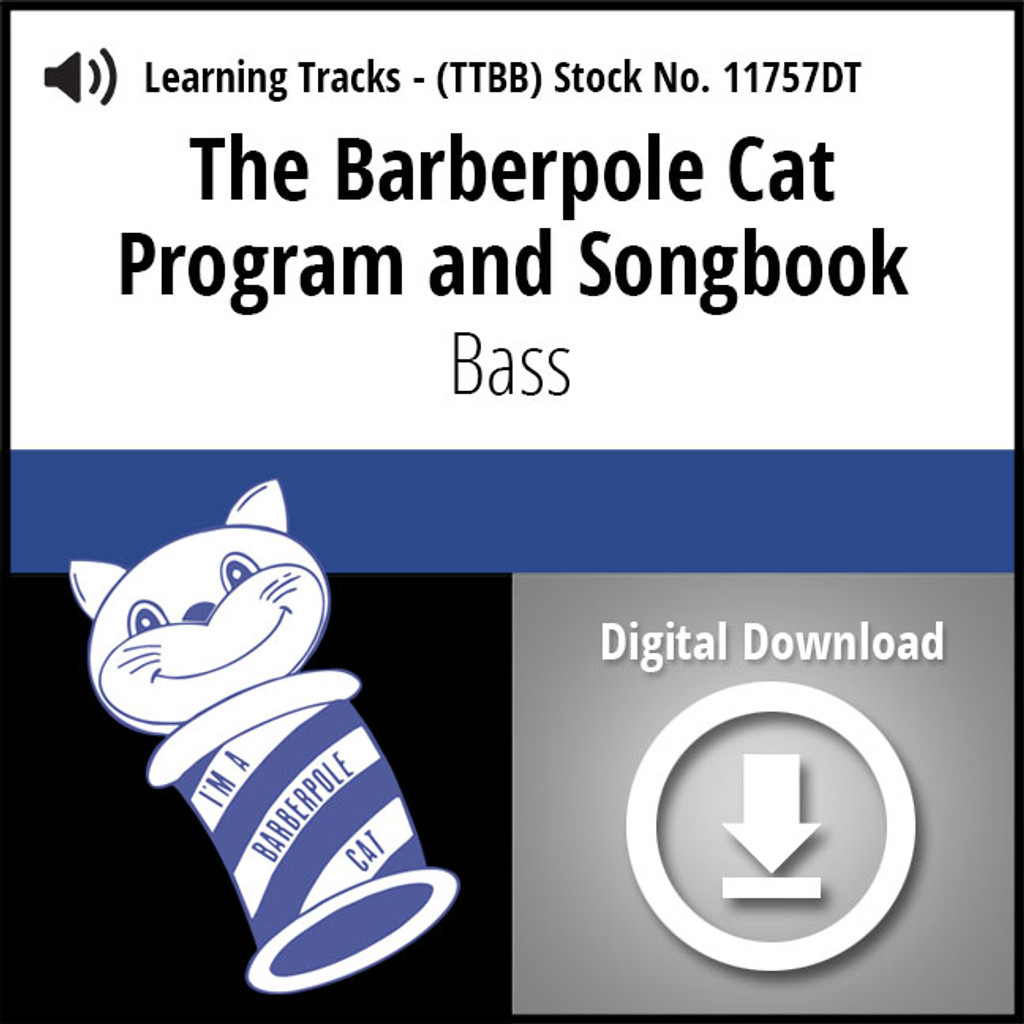 Barberpole Cat Songbook Vol. I (Bass) - Digital Learning Tracks for 209064