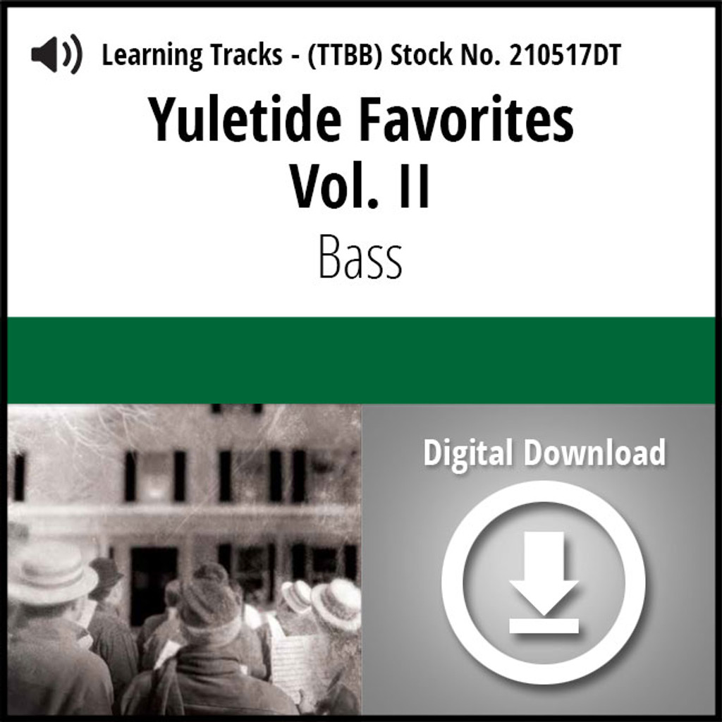 Yuletide Favorites Vol. II (Bass) - Digital Learning Tracks for 210494