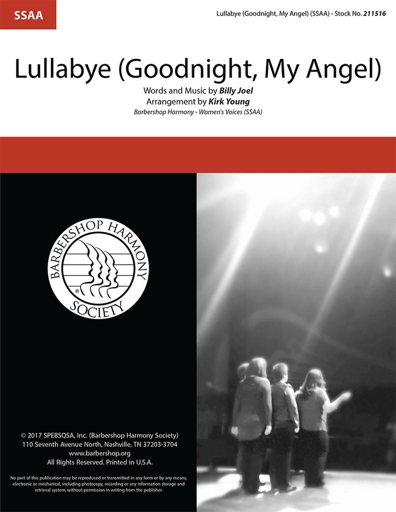 Lullabye (Goodnight, My Angel) (SSAA) (arr. Young) - Download